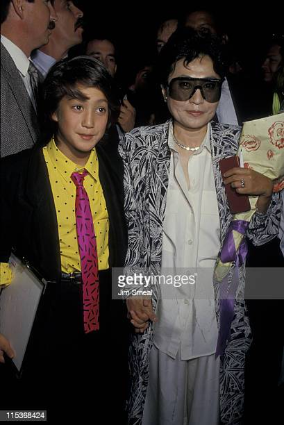 Sean Lennon And Yoko Ono During Opening Of The John Collection At Dyansen Gallery In
