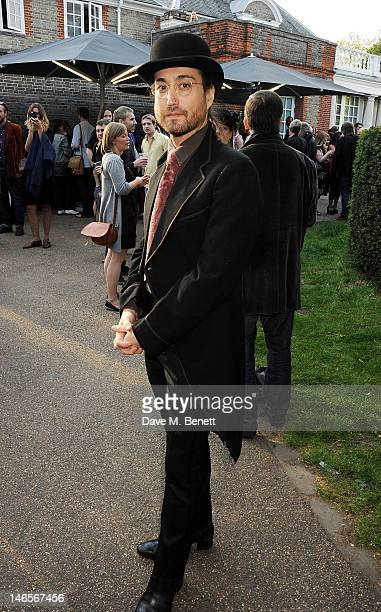 Sean Lennon attends a private view of 'Yoko Ono To The Light' exhibition at The Serpentine Gallery on June 19 2012 in London England