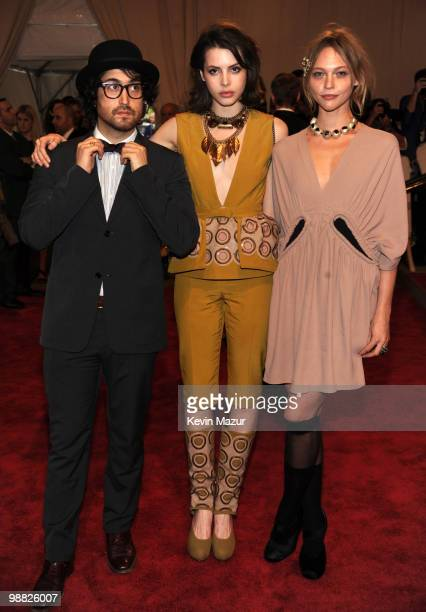 """Sean Lennon attends the Costume Institute Gala Benefit to celebrate the opening of the """"American Woman: Fashioning a National Identity"""" exhibition at..."""