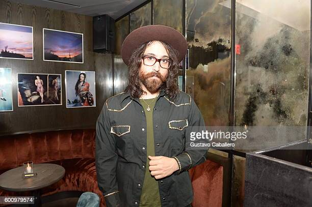 Sean Lennon attends the IMG Men's Model Division Party at The Blond at 11 Howard Hotel on September 8 2016 in New York City