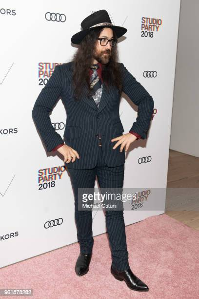 Sean Lennon attends the Whitney Museum Celebrates The 2018 Annual Gala And Studio Party at The Whitney Museum of American Art on May 22 2018 in New...