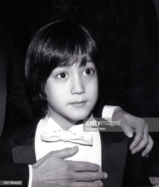 Sean Lennon circa 1982 in New York City.