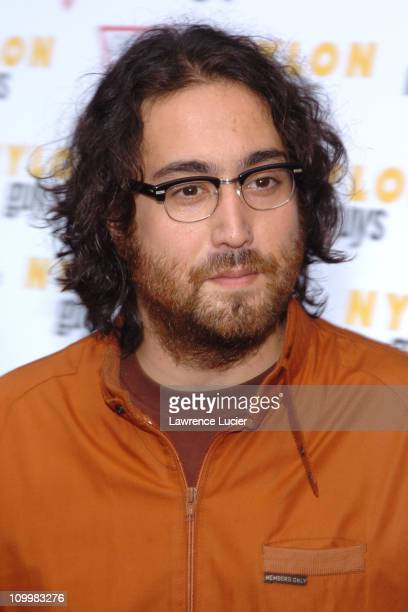 Sean Lennon during Last Days New York City Premiere Arrivals at Sunshine Theater in New York City New York United States