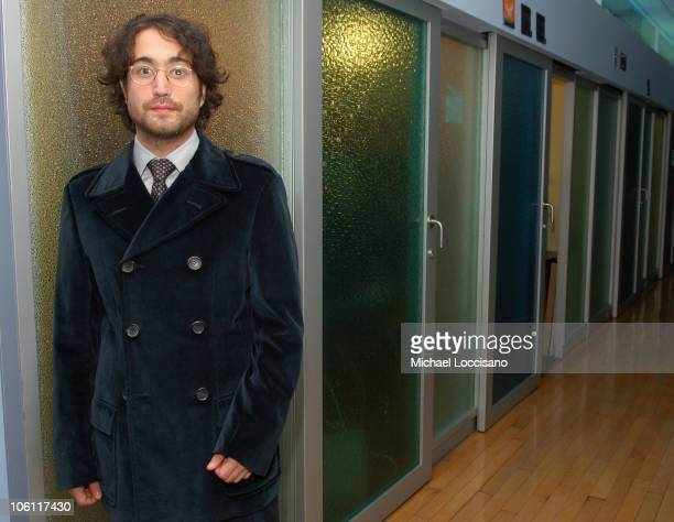 Sean Lennon during Sean Lennon Visits MTV2's Subterranean October 20 2006 at MTV Studios Times Square in New York City United States