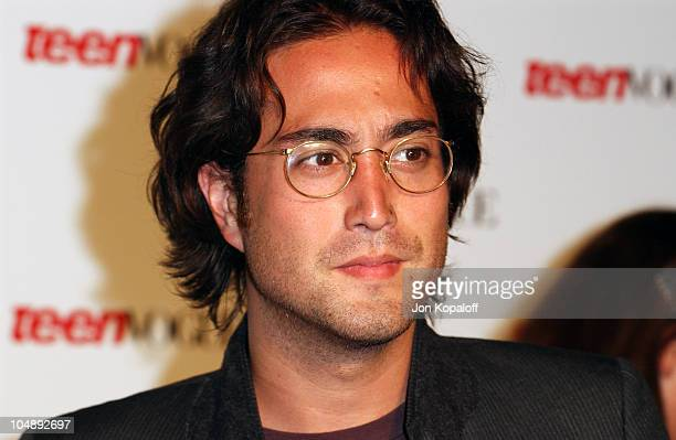 Sean Lennon during The Teen Vogue Celebrates Its First Annual Young Hollywood Issue at Private Residence in Beverly Hills California United States