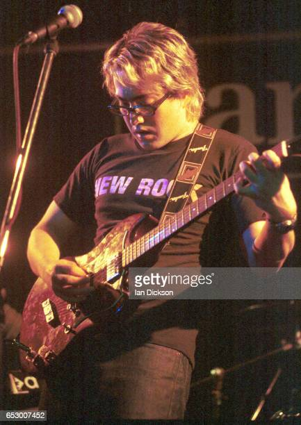 Sean Lennon performing on stage at The Barfly London 07 May 1998