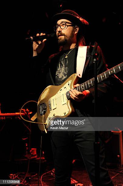 """Sean Lennon performs at """"Yoko Ono & Friends To Japan With Love"""" Yoko Ono hosts benefit concert for the Japan Society's Earthquake Relief Fund at Le..."""