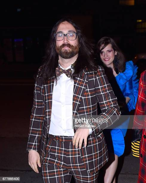 Sean Lennon seen out in Manhattan on May 2, 2017 in New York City.
