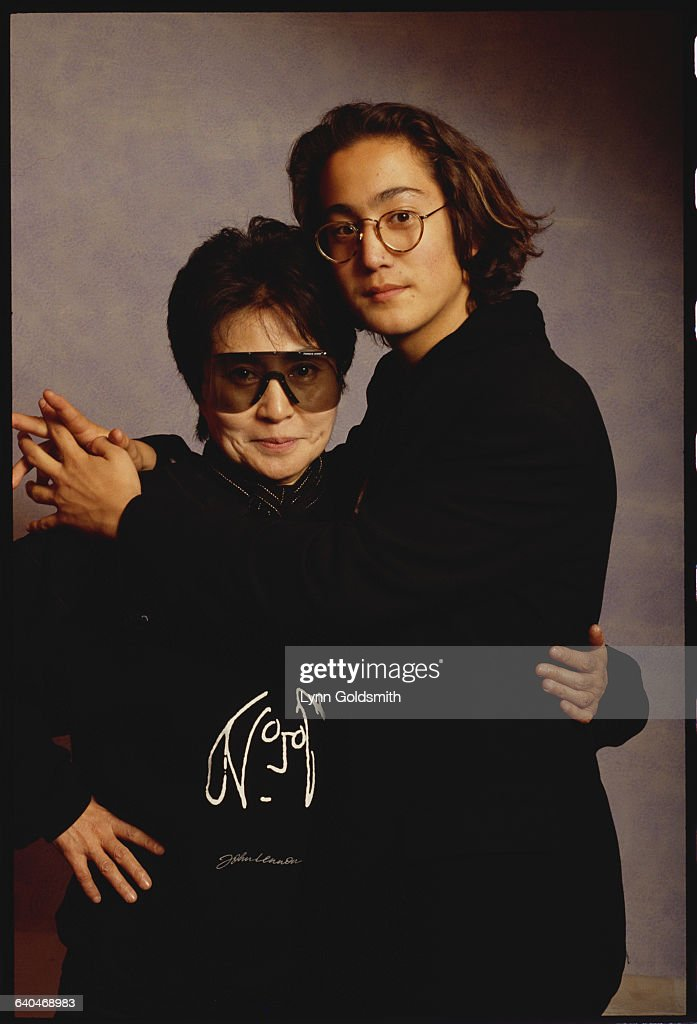 Yoko Ono And Son Sean Lennon Pictures