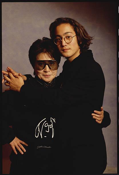 Yoko Ono And Son Sean Lennon