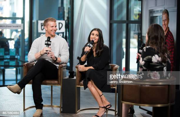 Sean Lowe and Catherine Lowe attend AOL Build Series at Build Studio on October 4 2017 in New York City