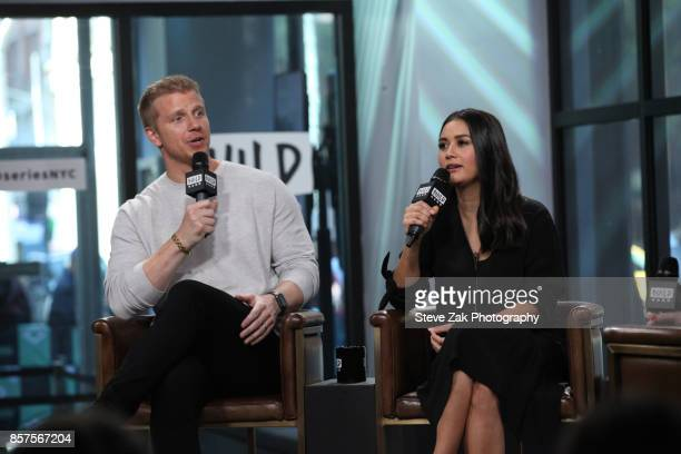Sean Lowe and Catherine Lowe attend Build Series to discuss Worst Cooks In America at Build Studio on October 4 2017 in New York City
