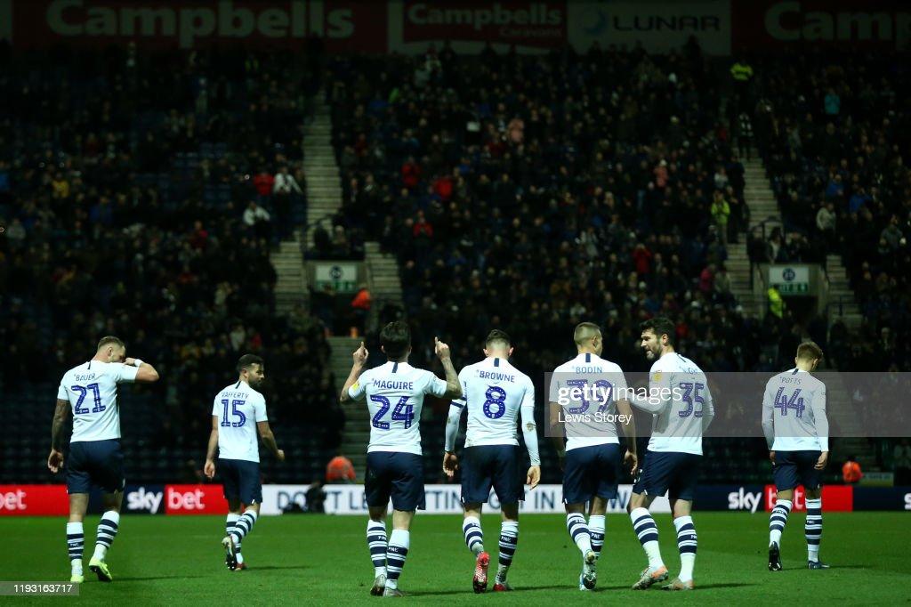 Preston North End v Fulham - Sky Bet Championship : News Photo