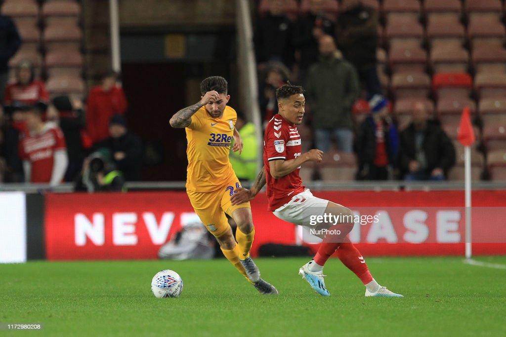 Middlesbrough v Preston North End - Sky Bet Championship : News Photo
