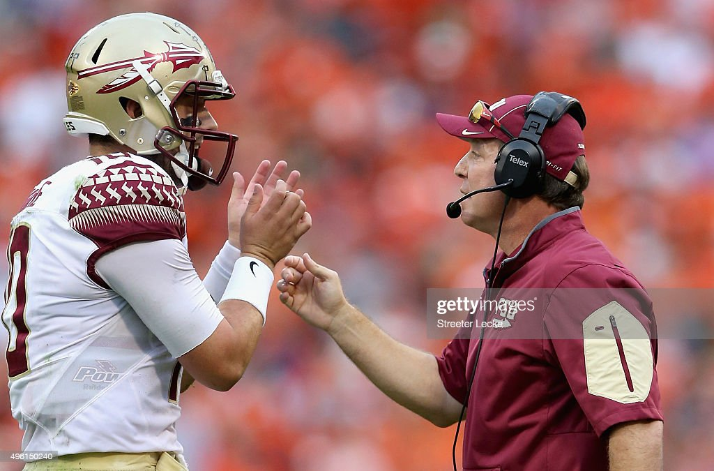 Florida State v Clemson : News Photo