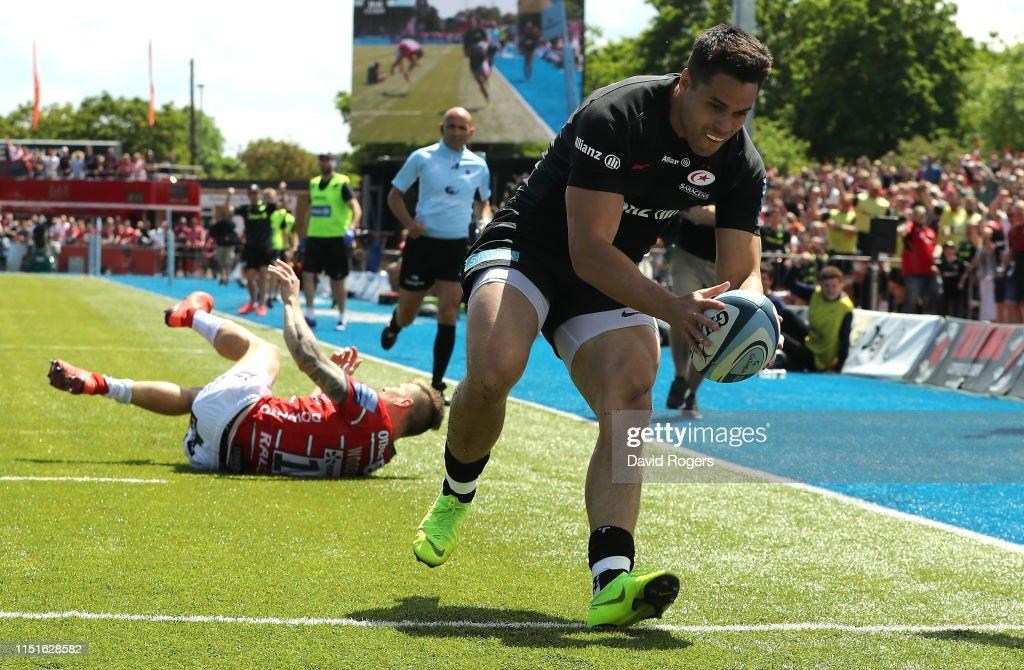 GBR: Saracens v Gloucester - Gallagher Premiership Rugby Semi Final