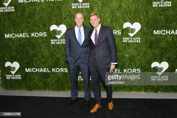 Sean Maloney and Randy Florke attend The 12th Annual Golden Heart Awards at Spring Studios on October 16 2018 in New York City