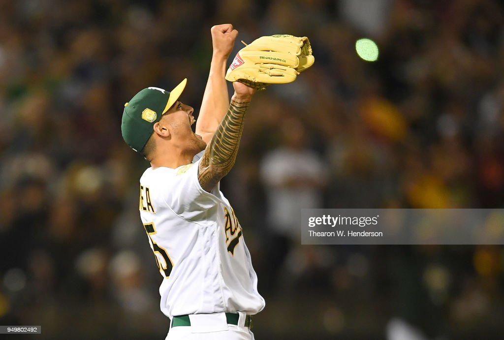 Boston Red Sox v Oakland Athletics : News Photo