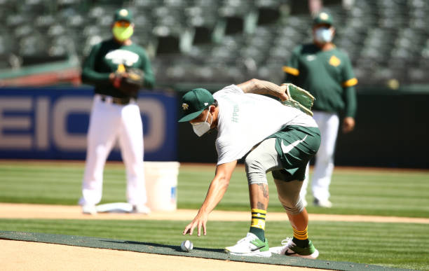 CA: Oakland Athletics Summer Workouts