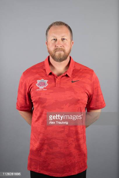 Sean Marohn of the Cincinnati Reds poses during Photo Day on Tuesday February 19 2019 at Goodyear Ballpark in Goodyear Arizona