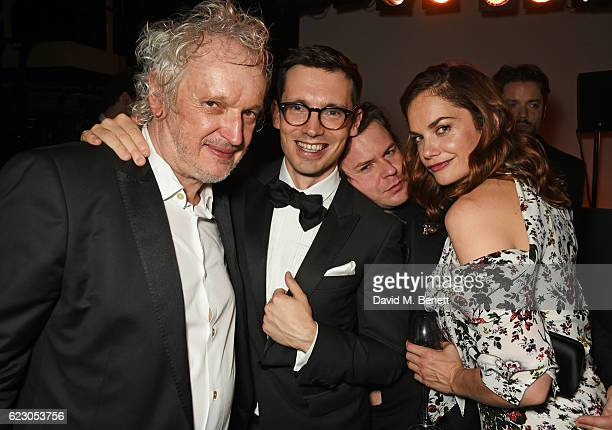 Sean Mathias Erdem Moralioglu Christopher Kane and Ruth Wilson attend The 62nd London Evening Standard Theatre Awards after party recognising...