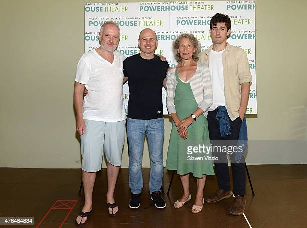Sean Mathias Keith Bunin Beth Dixon and Carter Hudson attend the New York Stage and Film Vassar's 31st Powerhouse Theater Season Meet and Greet at...