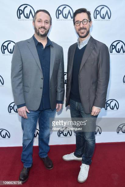 Sean McKittrick and Raymond Mansfield attend the 2019 PGA Nominees Breakfast on January 19 2019 in Beverly Hills California