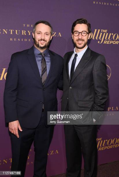 Sean McKittrick and Raymond Mansfield attend The Hollywood Reporter 2019 Oscar Nominee Party at CUT on February 04 2019 in Beverly Hills California