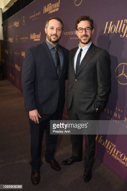 Sean McKittrick and Raymond Mansfield attend The Hollywood Reporter's 7th Annual Nominees Night presented by MercedesBenz Century Plaza Residences...