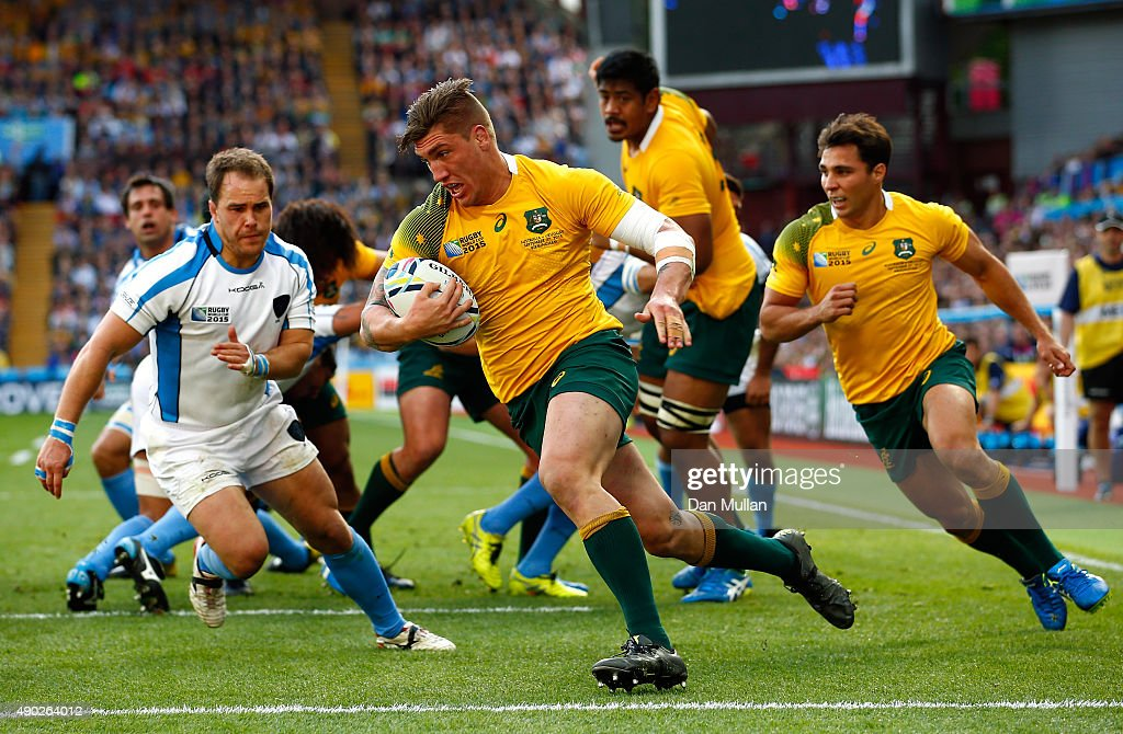 Australia v Uruguay - Group A: Rugby World Cup 2015 : News Photo
