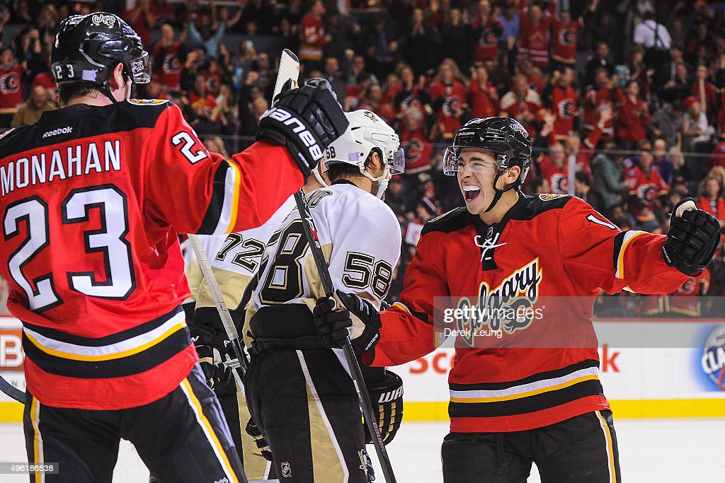 Pittsburgh Penguins v Calgary Flames : News Photo