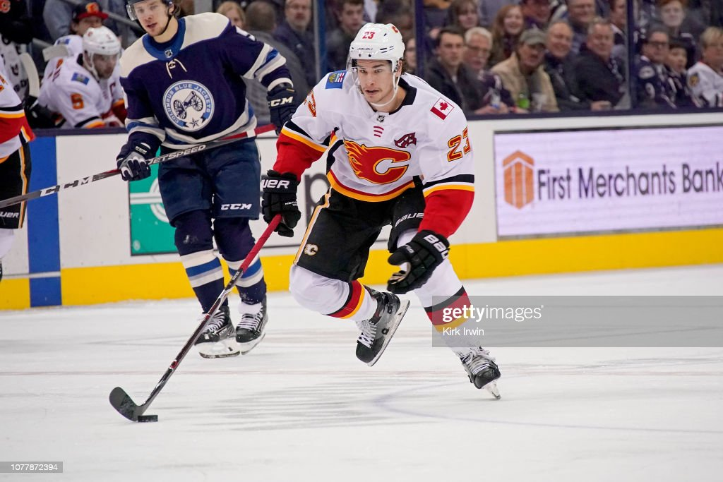 Calgary Flames v Columbus Blue Jackets : News Photo