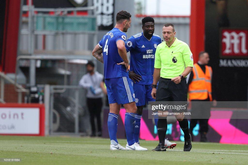 AFC Bournemouth v Cardiff City - Premier League : News Photo