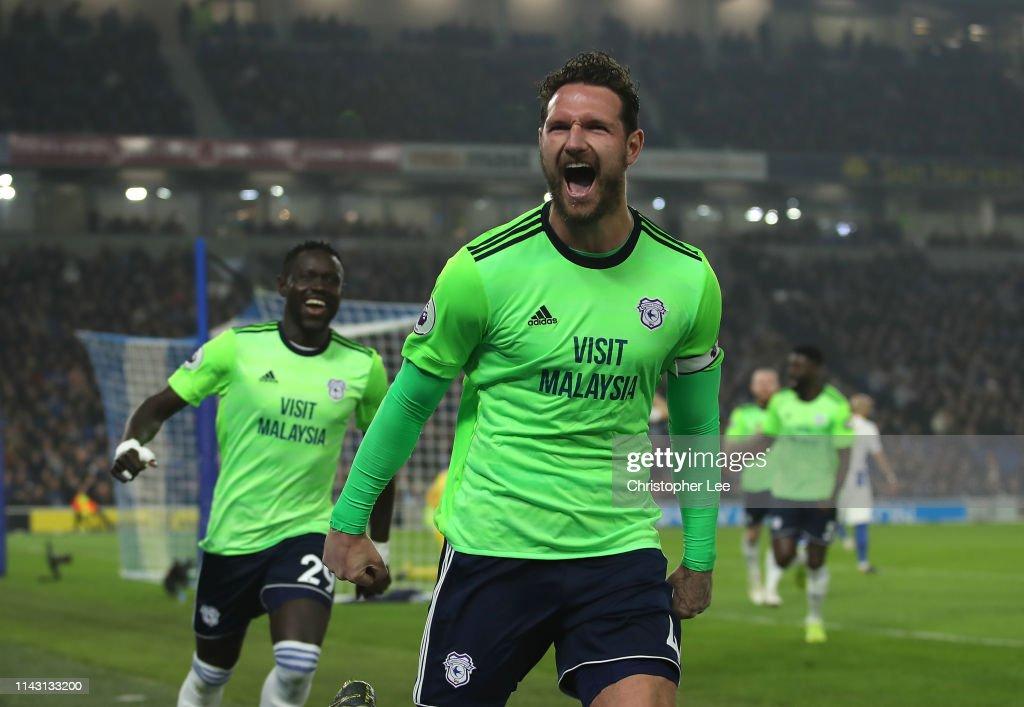 Brighton & Hove Albion v Cardiff City - Premier League : ニュース写真