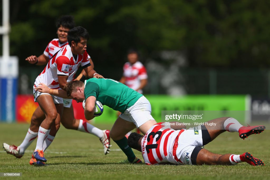 Ireland U20  v Japan U20 - World Rugby Under 20 Championship