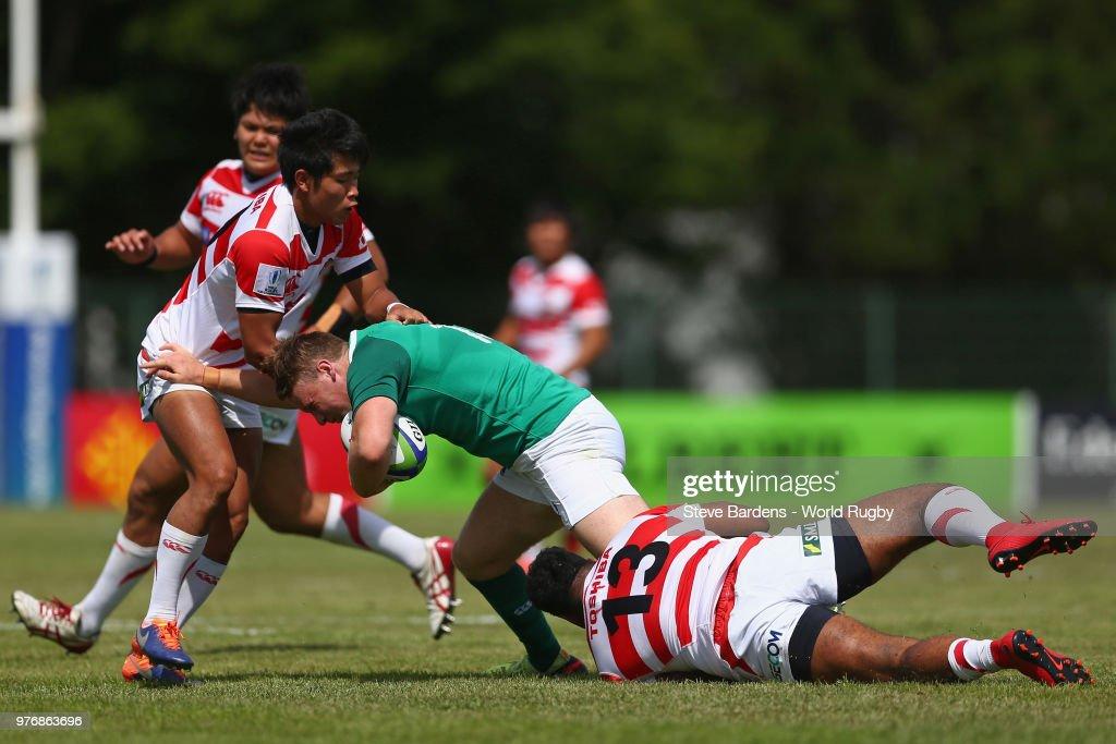 Ireland U20  v Japan U20 - World Rugby Under 20 Championship