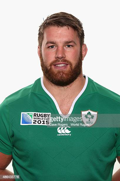 Sean O'Brien of Ireland poses for a portrait during the Ireland Rugby World Cup 2015 squad photocall on June 28 2015 in Maynooth Ireland