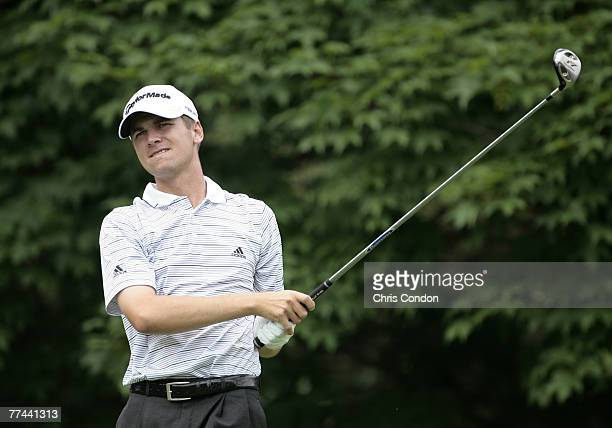 Sean O'Hair during the fourth and final round of the Memorial Tournament Presented by Morgan Stanley held at Muirfield Village Golf Club in Dublin,...
