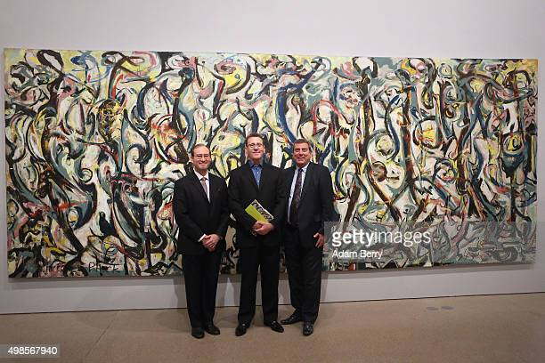 Sean O'Hara director of the University of Iowa Museum of Art David Anfam curator of the exhibition and Senior Consulting Curator at the Clyfford...