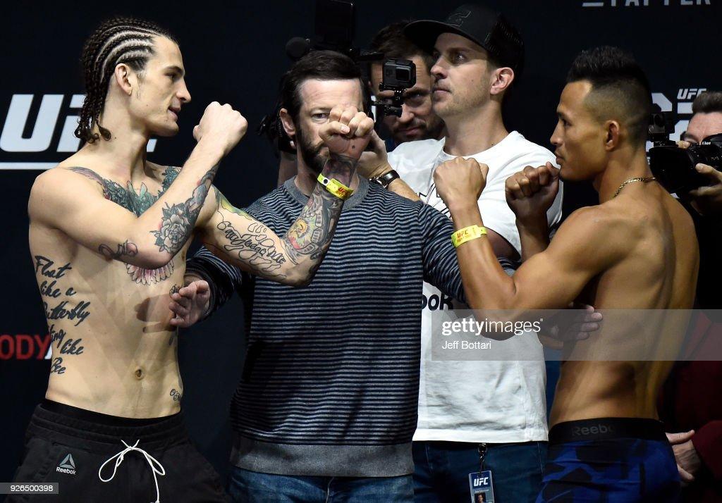 UFC 222: Weigh-ins