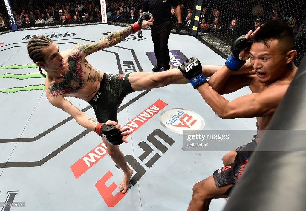 UFC 222: O'Malley v Soukhamthath : News Photo