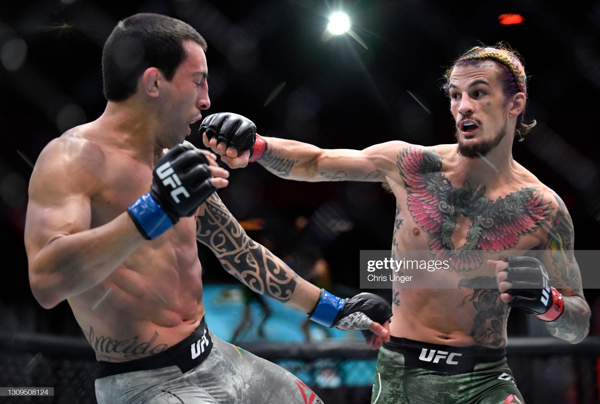 UFC 260: O'Malley v Almeida : News Photo