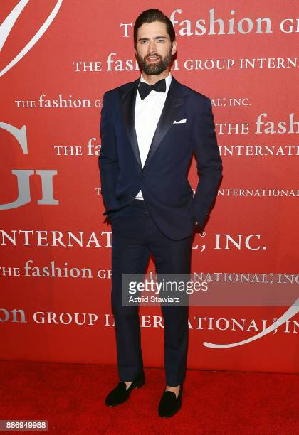 Sean O'Pry attends the 2017 FGI Night Of Stars Modern Voices gala at Cipriani Wall Street on October 26 2017 in New York City