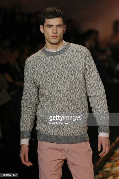 Sean Opry wearing Lacoste Fall 2007