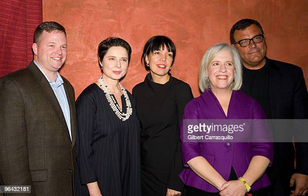 Sean O'Reilly general manager of Chase Card Services actress Isabella Rossellini Sara Barnett general manager of Sundance Channel Carrie Rickey film...