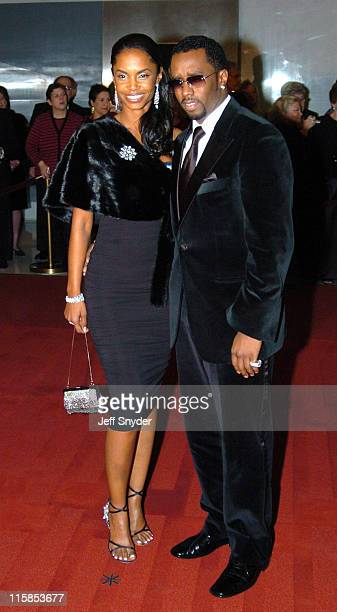 Sean P Diddy Combs and Kim Porter during The 27th Annual Kennedy Center Honors at The John F Kennnedy Center for the Performing Arts in Washington...
