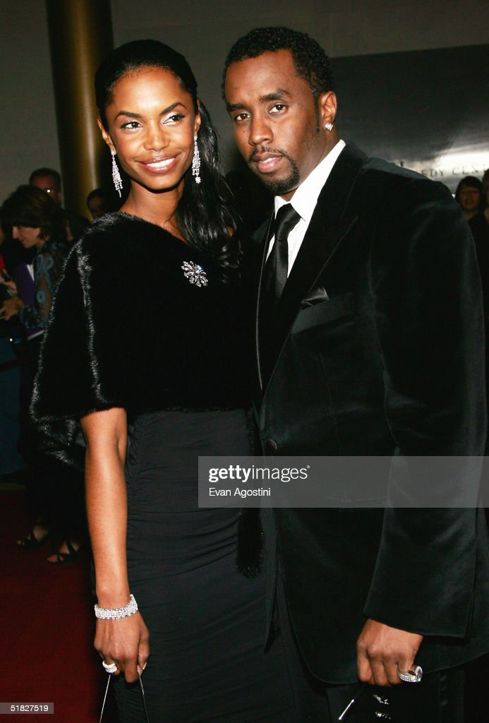 Sean 'P. Diddy' Combs and wife Kim Porter arrive at the 27th Annual Kennedy Center Honors Gala at The Kennedy Center for the Performing Arts December 5, 2004 in Washington, DC.