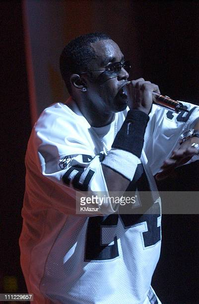 Sean 'P Diddy' Combs during LIFEBeat's Urban AID 2 Benefit Concert at Beacon Theater in New York City New York United States
