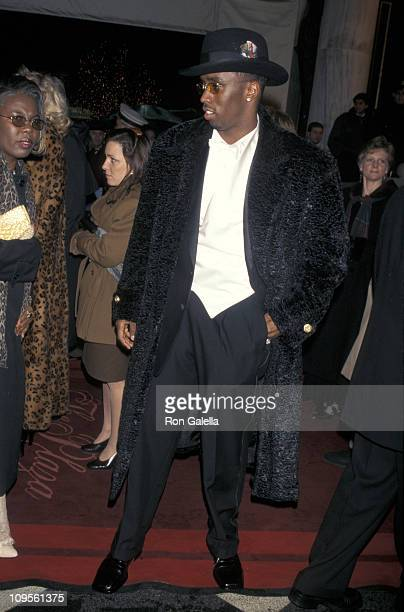 Sean 'P Diddy' Combs during The 40th Annual GRAMMY Awards Arista Records PreGRAMMY Party at Beverly Hills Hotel in New York City New York United...