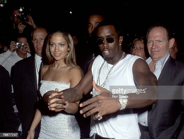 Sean P Diddy Combs Jennifer Lopez and father David Lopez